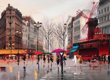Landschaft Werke - Ambiente der Moulin Rouge KG Paris